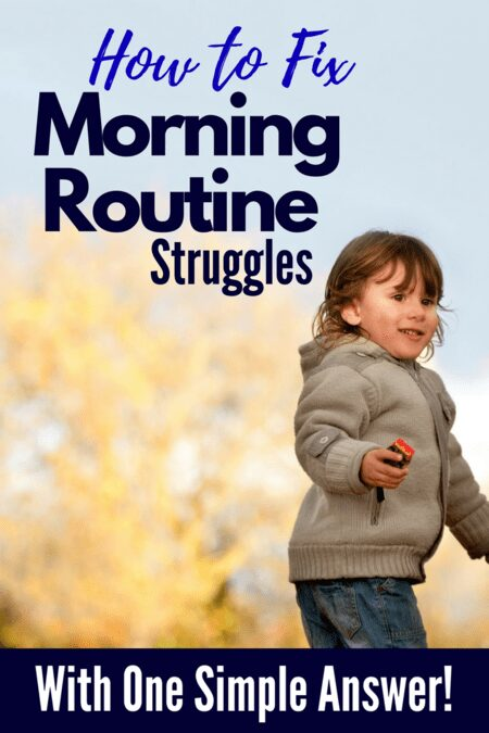 How to Fix The Morning Routine Struggle