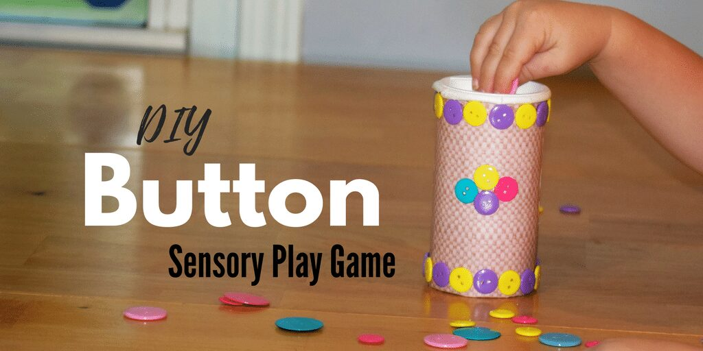 DIY Button Sensory Play Game for Toddlers | Autism Spectrum Disorder (ASD) Sensory Processing Disorder (SPD) Fine Motor Skills