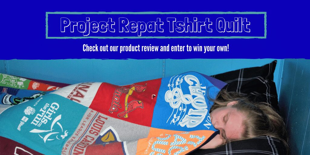 Project Repat Tshirt Quilt Review & GIveaway