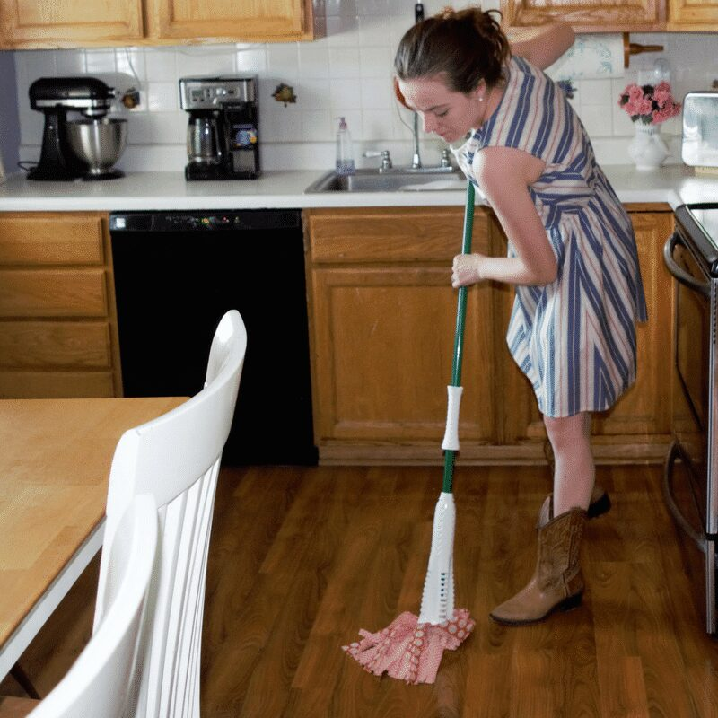 Cleaning up after life's messy moments with my Wonder Mop! Find out why you need this mop in your home today!