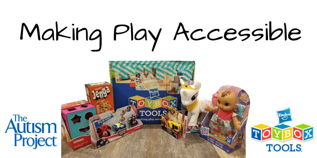 Hasbro TOYBOX Tools -Making Play Accessible with The Autism Project
