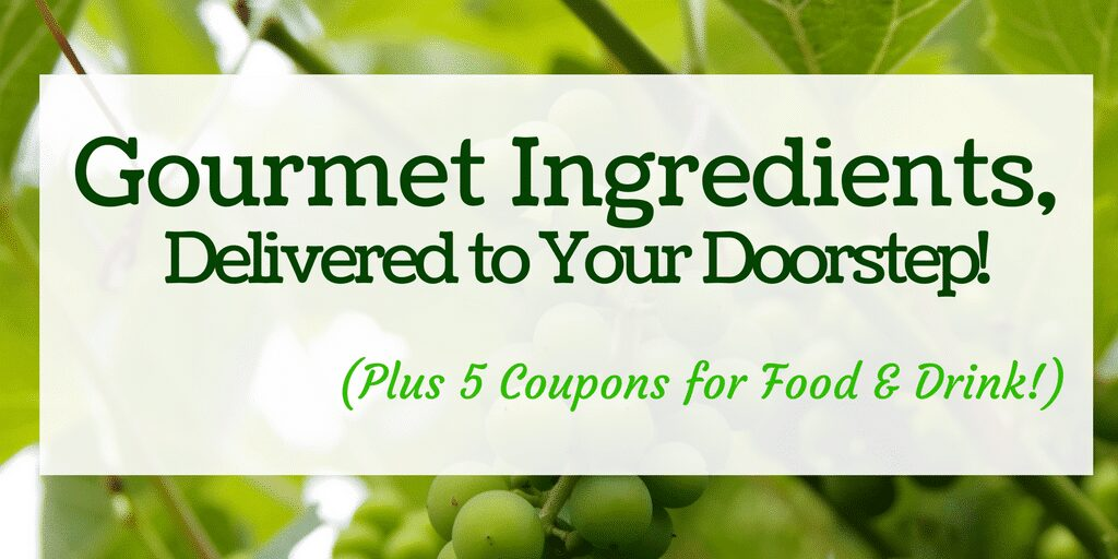 Have Gourmet Ingredients Delivered - Plus 5 Coupons for Food & Drink