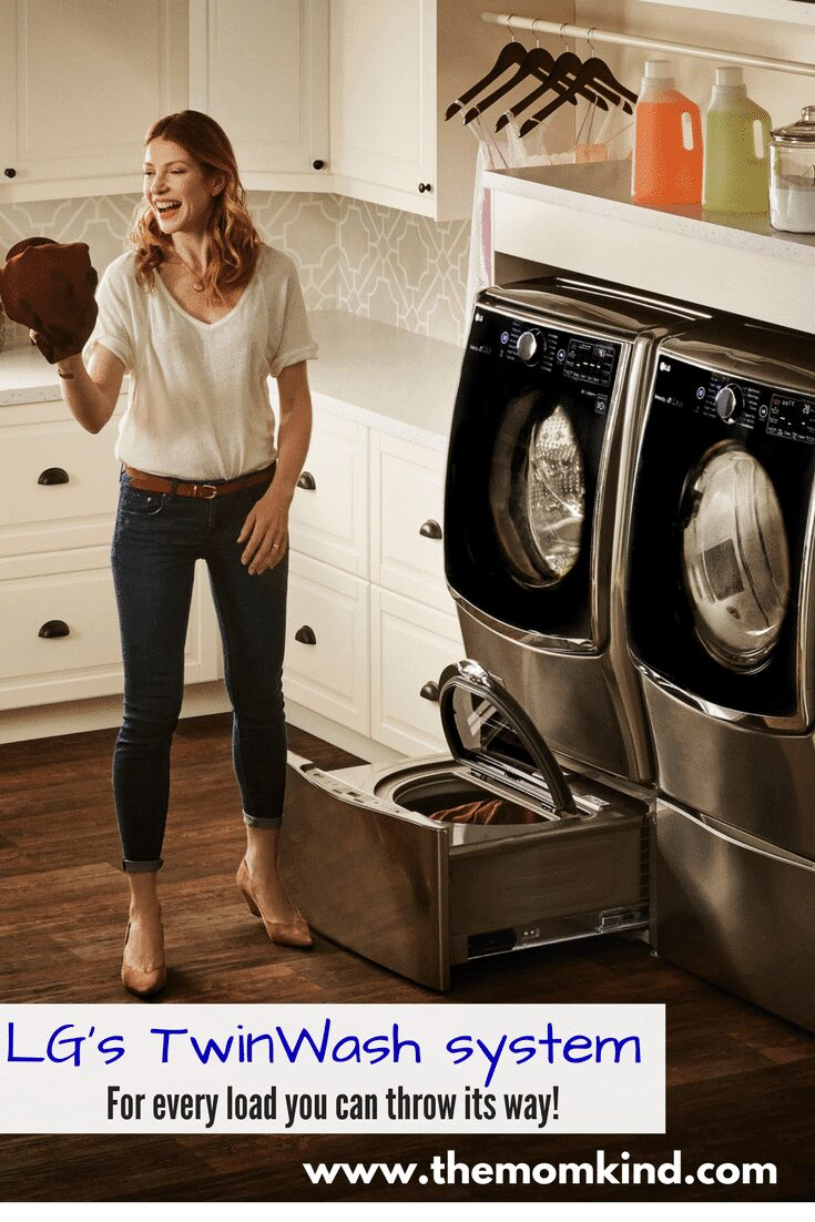 LG's TwinWash system- For Every Load you throw its Way! #ad ALGUS @Bestbuy