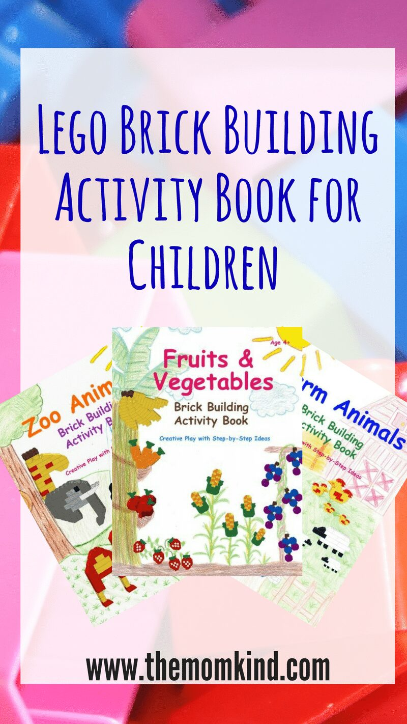 We love Lego bricks, but I fully admit my imagination stops beyond square houses. So I couldn't have bee more thrilled to try out these Lego Brick Activity Books for Children,