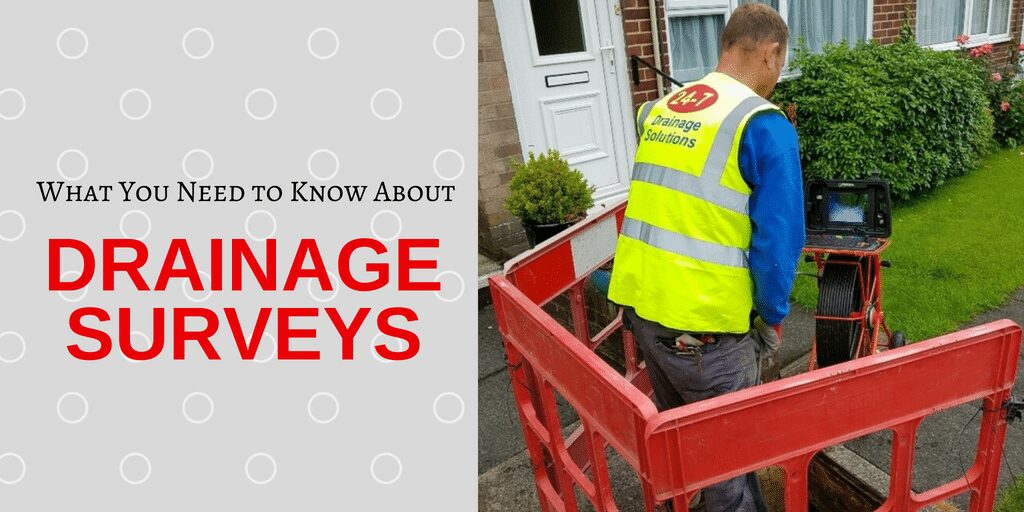 Everything you need to know about A Domestic Drainage Survey for your home