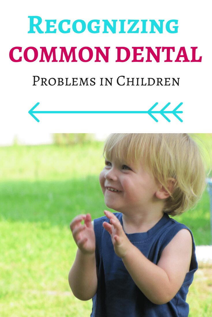 Recognizing the most common pediatric dental problems in children