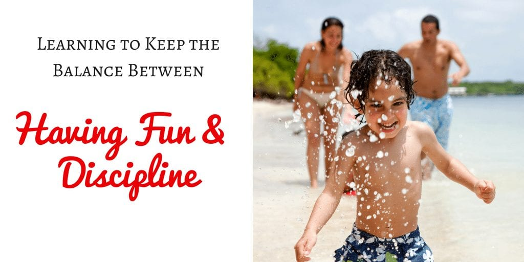 Parenting is tough but so rewarding! So how do you know how to keep the balance between having fun and discipline? Check out these great tips!