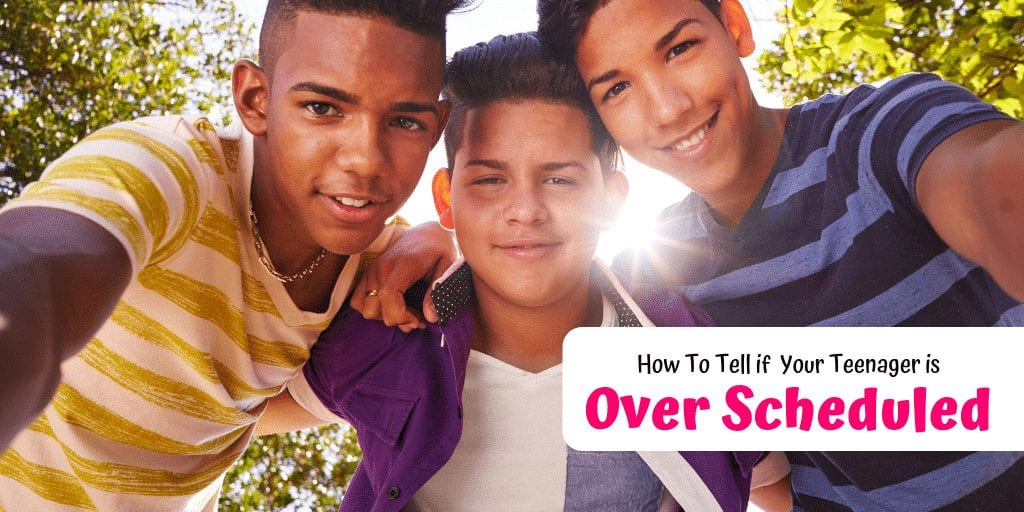 Ensuring they have plenty of activities to keep them busy until their parents get home has its benefits. How do you know if your teenager is over scheduled?