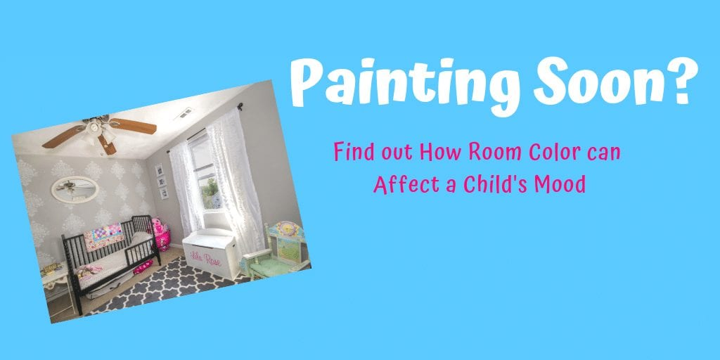 Are you planning on painting your child's room soon? Check out this post on How the Colors in a Child's Room Can Affect Their Mood #parenting #painting #kidsroom #bedroomideas #designideas