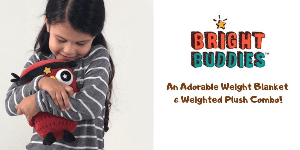Bright Buddies: An Adorable Weighted Blanket & Plush for Autism