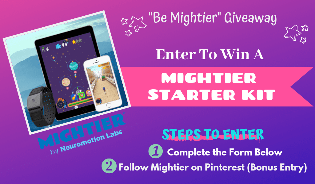 Mightier is the Emotional Regulation Video Game System that is making waves in the Autism Community. It is perfect for ANY child that struggles with emotional regulation and even adults can benefit!  Great for those with ADHD, Anxiety, ASD, and other Emotional Regulatory Disorders.    Enter for your chance to win Mightier by Neuromotion Labs @TheMomKind @BeMightier #autism #giveaway #contest #sponsored