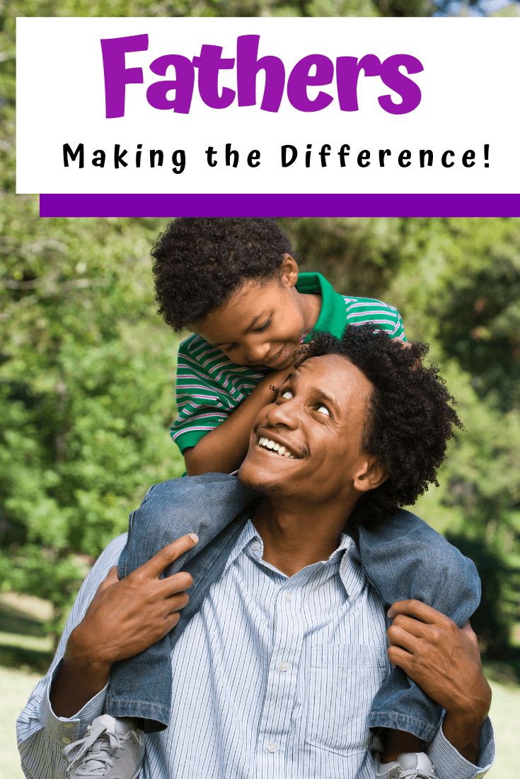 The importance of fathers in their children's lives is overwhelmingly substantial. Today, we're going to go over just a few of the ways Dad's make a difference in their children's lives