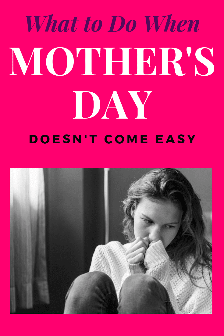 What do you do when Mother's Day doesn't come easy?  There are many reasons moms and children and struggle on this holiday.  Whether it be the death of a mother or child, distance, or a strain on the relationship, there are ways to improve your situation.  Find out what you need to know to find the resources you need today