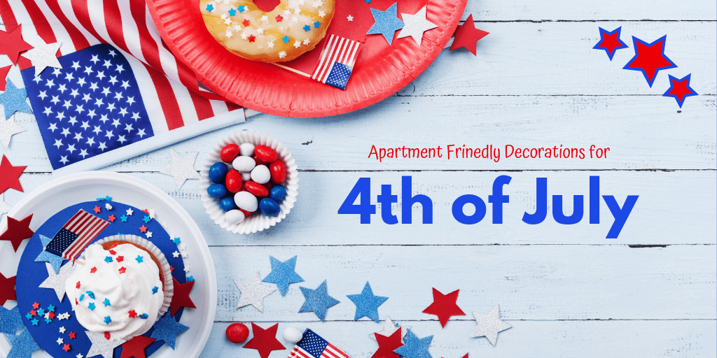 Add a little bit of the red, white, and blue to your interiors and decorate your apartment for the 4th! Here are five ways to decorate your apartment for the Fourth of July party with kids