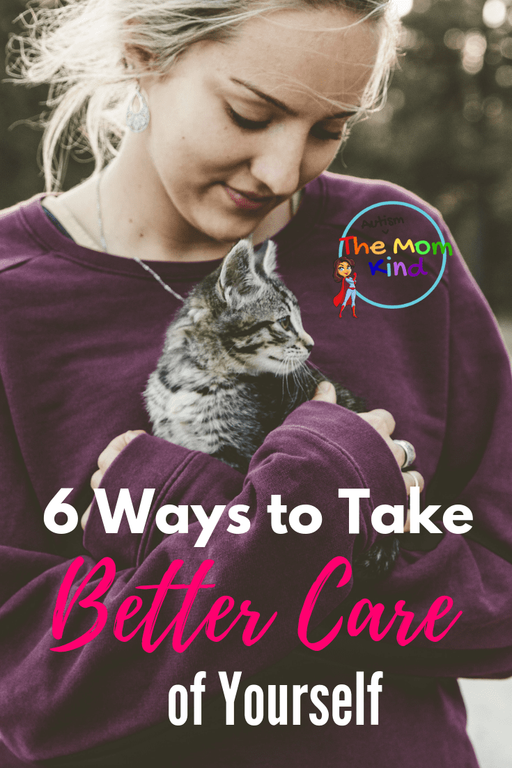 Taking care of yourself is easier said than done. Here are six ways to take better care of yourself so you will be healthier. #selfcare #caregiverburnout #parenting