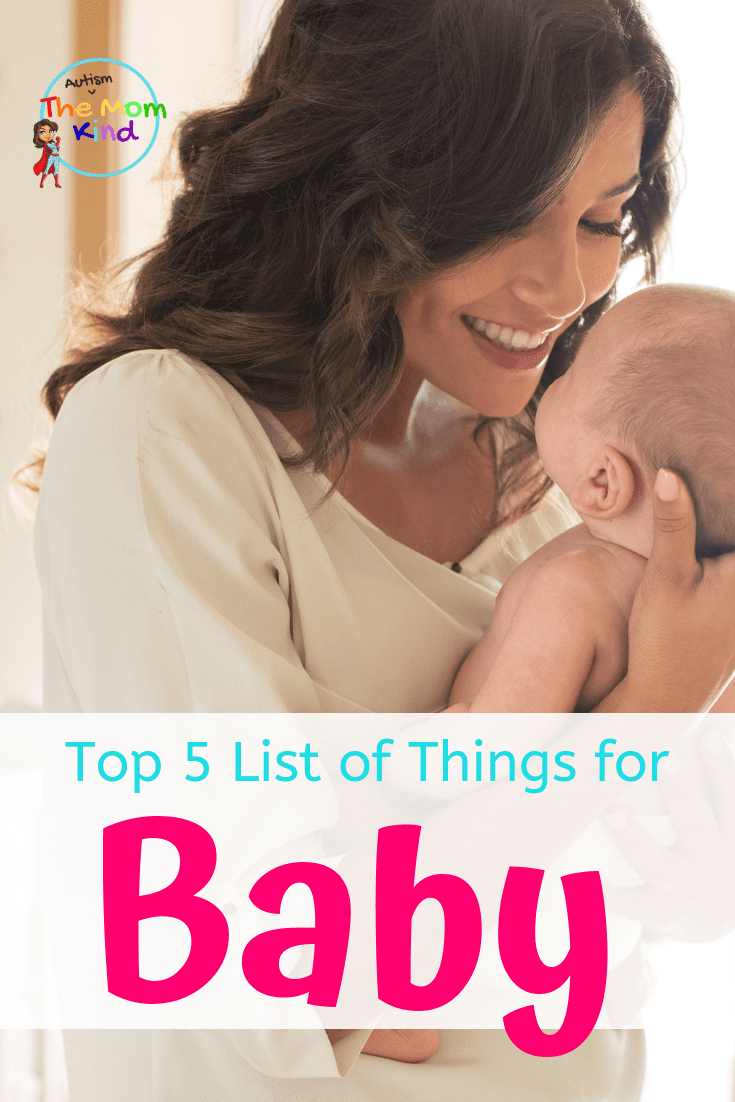 When it comes time to bring baby home, this List of things You Need for a New Baby will get you started off on the right foot!    #baby #newborn #parentingtips #babyadvice