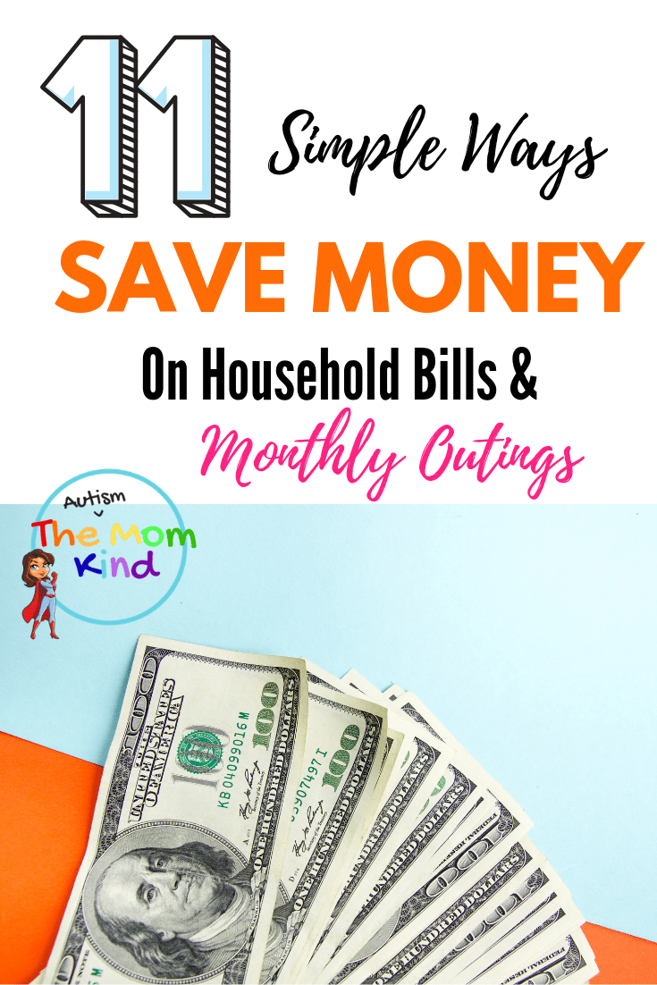 Running a household can be expensive at times.  Check out these 11+ Ways to Save Money on Household Bills and Monthly Outgoings #money #savingmoney #parenting #adulting