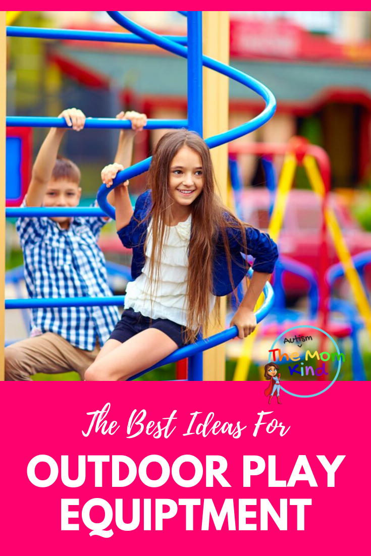 Trying to keep your children entertained while outside?  Check out these Outdoor Play Equipment Ideas that every kids will love! #parentingtips #outdoorplay