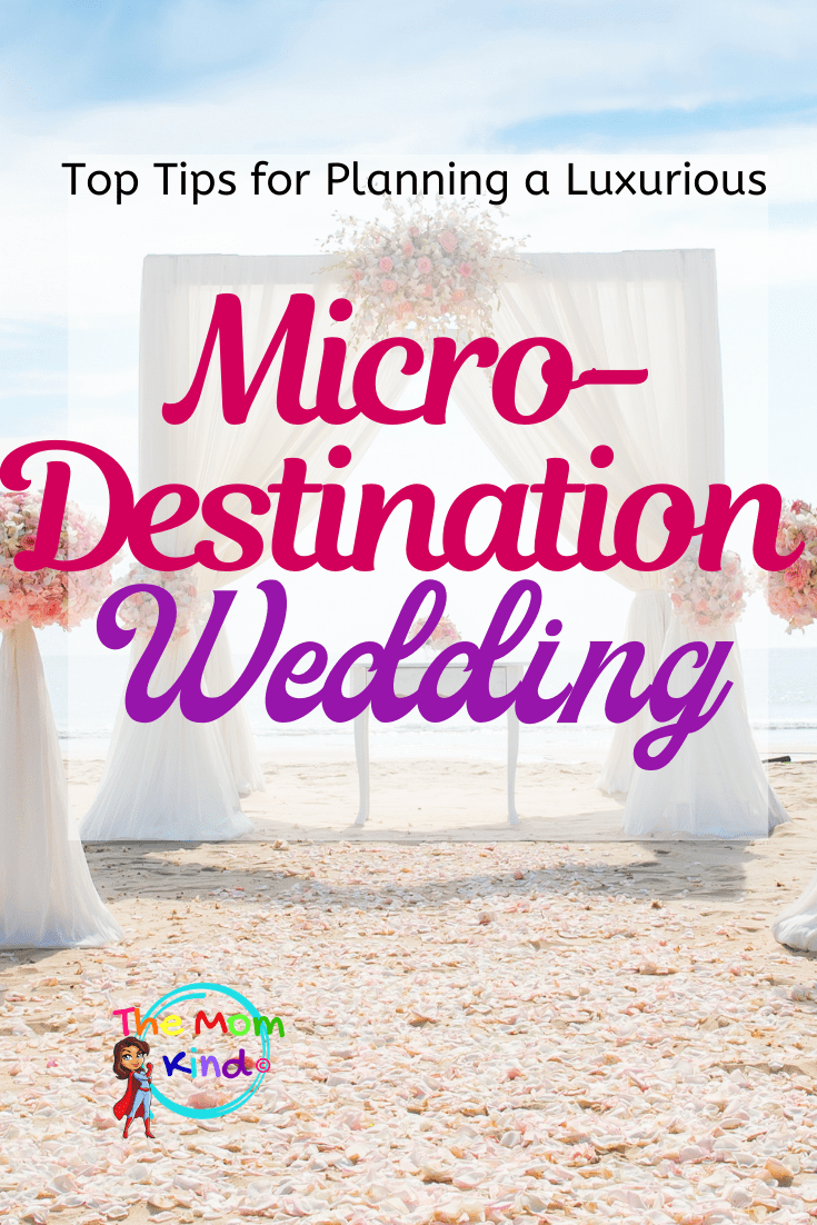 More formal & luxurious than an elopement,  a micro destination wedding can be the perfect solution.  Let's make it the wedding of your dreams! #microdestinationwedding #weddingplanning