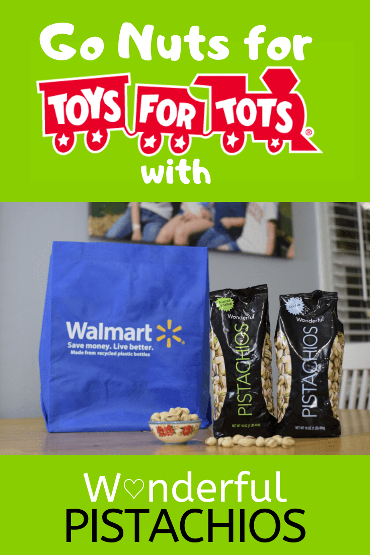 #ad Besides the fact that they taste amazing, @WonderfulPistachios are helping you give back this holiday season!  With their #GoNutsForTots campaign, Wonderful Pistachios will be donating $.10/unit for Wonderful Pistachios Roasted & Salted and Wonderful Pistachios Roasted No Salt sold at @Walmart up to $100k with the donations benefiting @ToysForTots Check out more here: http://goic.io/ZCPEj3 #WP