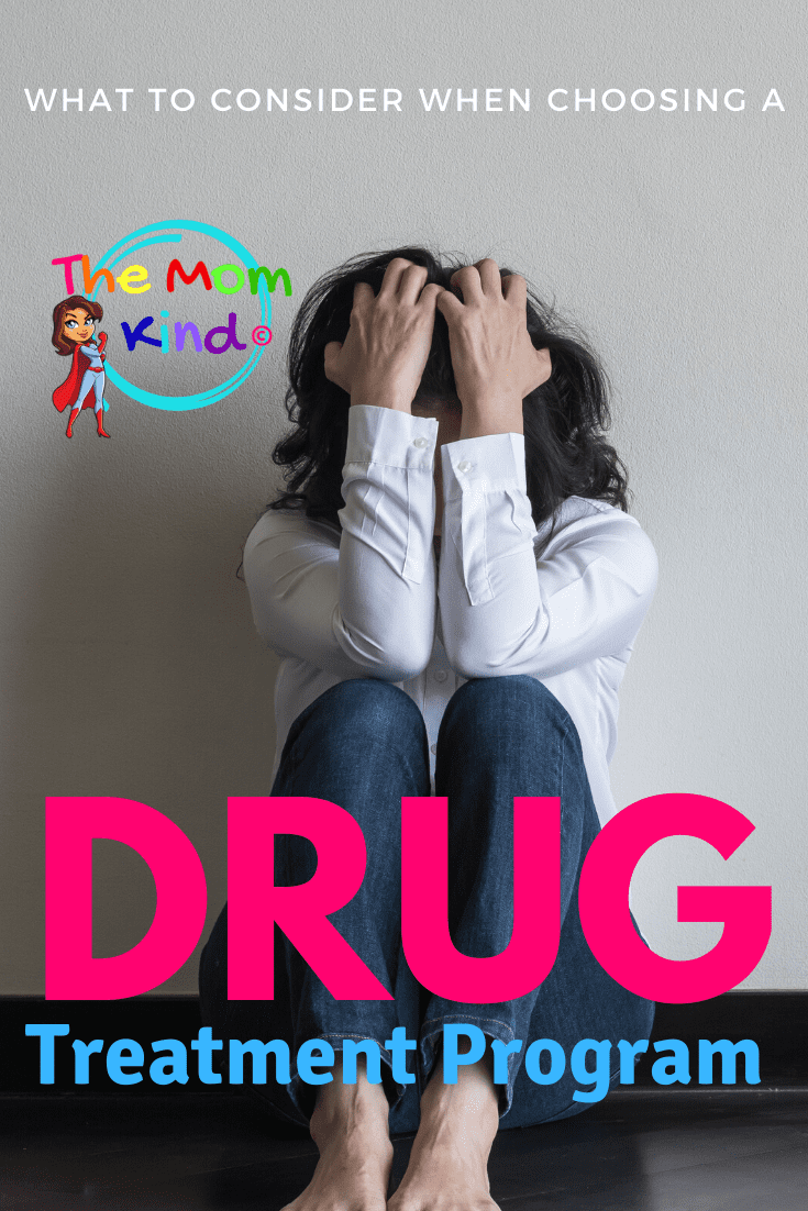 If you suspect your loved one needs rehabilitation, find out what should a person consider when choosing a drug treatment program? #mentalhealth #drugrehab