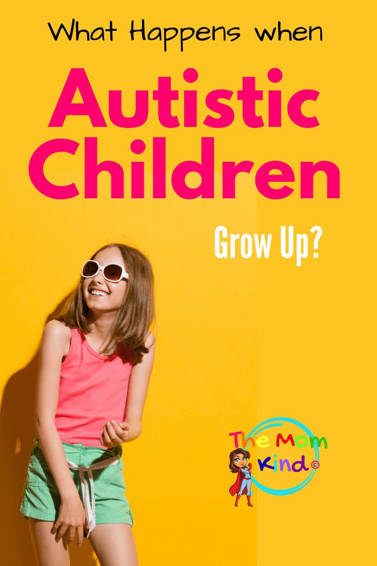 If you mention autism to most people think of children with autism, not adults, but it is lifelong. Autistic children grow up to be adults #autismparenting #autismawareness #autismacceptance #autism #asd #autisminadults