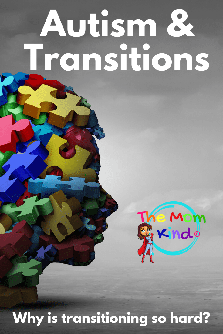 Autism and Transitions: Transitions can be hard for autistic individuals. Learn how transitions affect those with autism and how you can help #autismparenting #autism #asd #tranistions #autismacceptance #autismawareness