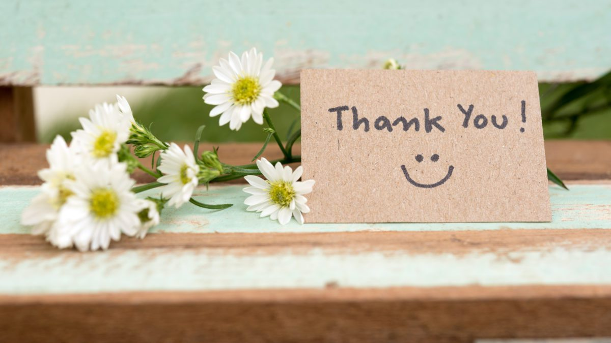 The power of a handwritten thank-you note goes a long way, much more than a text or email.  Learn what to Write in a Thank You Card