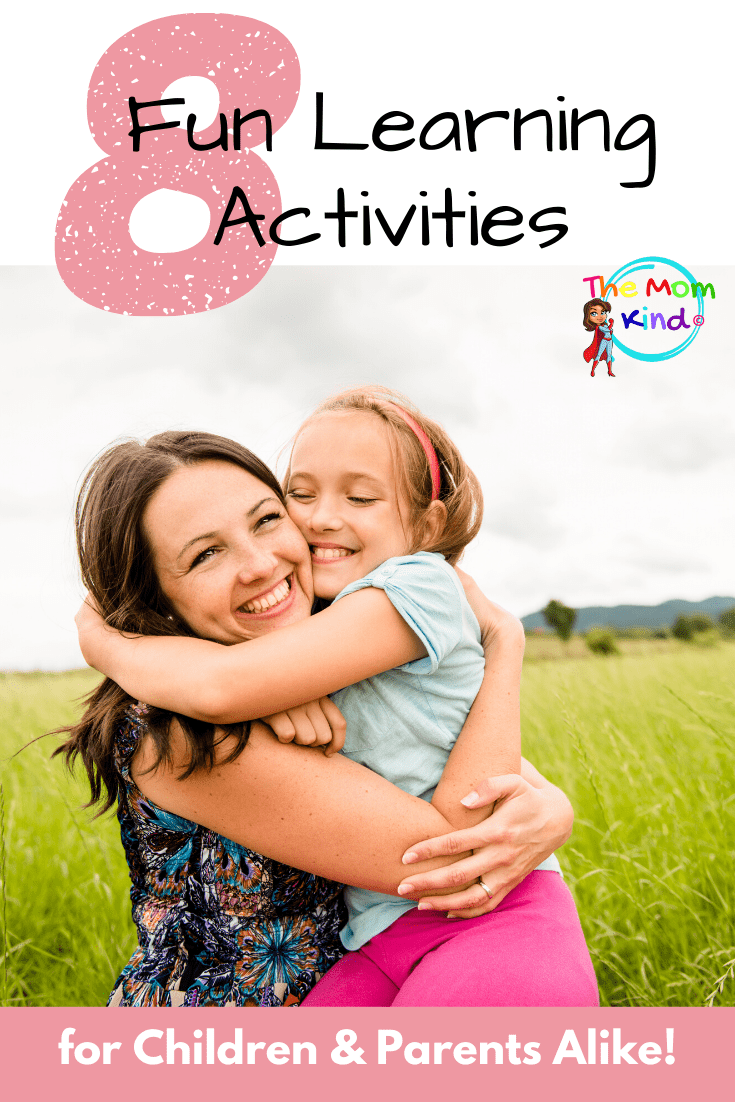 How do you keep children active and learning when they're not in school? Try these 8 Fun Learning Activities for Children and Parents Alike! #parentingtips #kidsactivities #parenting #learning #education