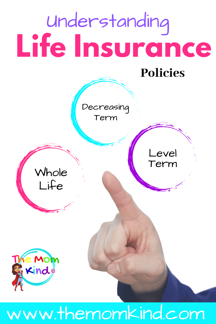 Understanding the three most popular life insurance policies will help you make this important choice in taking care of our family. #lifeinsurance #familyplanning #parentingadvice #lifestyle
