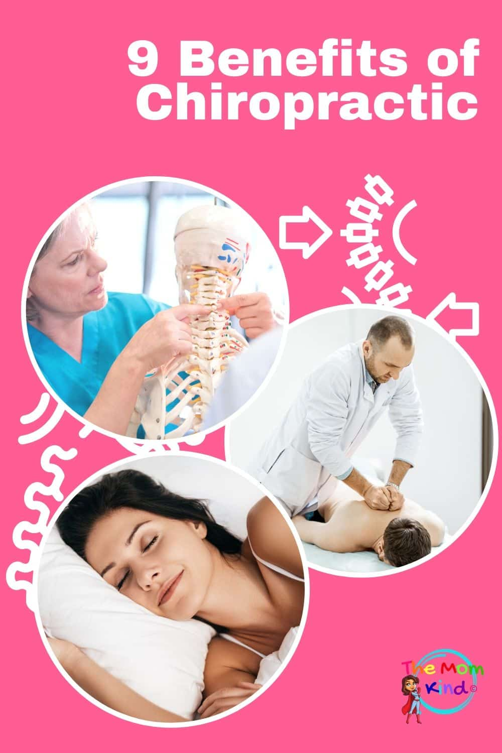 Chiropractic care has become more and more popular for several reasons. This guide lists the top 9 benefits of seeing a chiropractor. #health #lifestyle #chiropractor