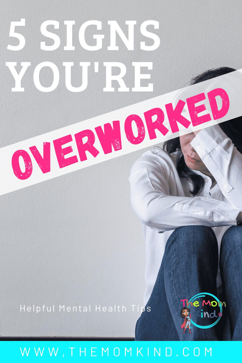 Are you feeling tired and think you might be overworked? Here are five telltale signs that you might be pushing yourself too far. #mentalhealth